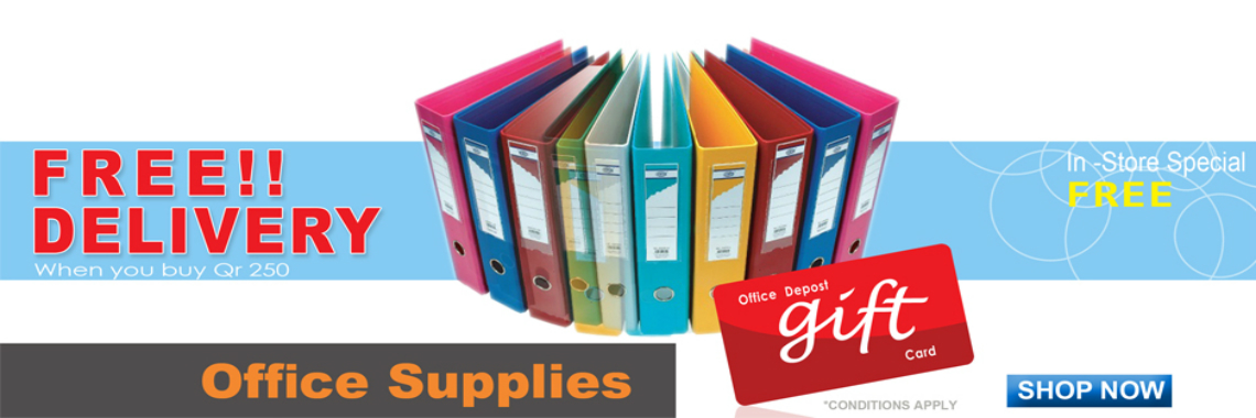 Stationery Suppliers in Doha, Qatar - Buy Papers, Files